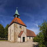 Loberod castle church Royalty Free Stock Photo