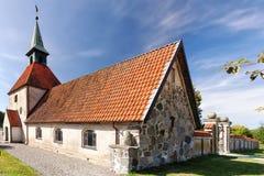 Loberod church Royalty Free Stock Photo