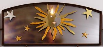 Lobgesang des Sun durch Heiligen Franziskus von Assisi Stockbilder