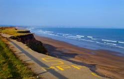 Żlobić Yorkshire wybrzeże zdjęcie stock