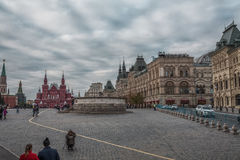 Lobnoye Mesto at Red Square. The Lobnoye Mesto at Red Square in Moscow of 1521 of construction the main function of which was the place for announcement of royalty free stock photography
