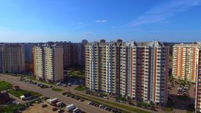 LOBNYA, RÉGION DE MOSCOU, RUSSIE banque de vidéos