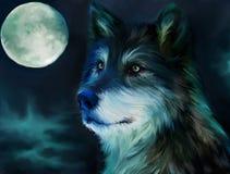 Lobo ilustración del vector