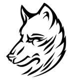 Lobo agradável e bonito () Imagem de Stock