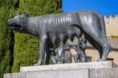 Lobo de Capitoline de Roma Fotos de archivo
