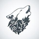 Lobo decorativo decorativo Imagens de Stock Royalty Free