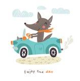 Lobo lindo libre illustration