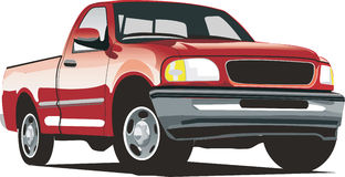 Lobo pickup truck Stock Images