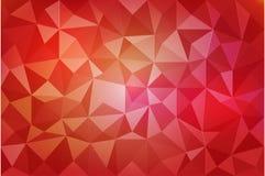 Lobo triangolare rosso royalty illustrazione gratis