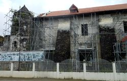 Loboc教会,菲律宾 库存图片
