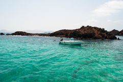 Lobos Island, Fuerteventura, Canary Islands, Spain Stock Image