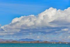Lobos island. Fuerteventura, canary islands Stock Photography