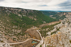 Lobos river canyon Stock Photos