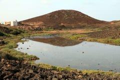 Lobos wyspy Fuerteventura wyspy kanaryjska Hiszpania Zdjęcie Royalty Free