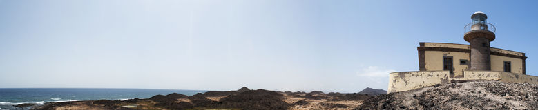 Loboseiland, Fuerteventura, Canarische Eilanden, Spanje Stock Afbeeldingen