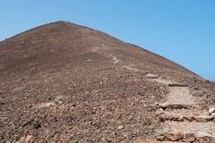 Loboseiland, Fuerteventura, Canarische Eilanden, Spanje Stock Afbeelding