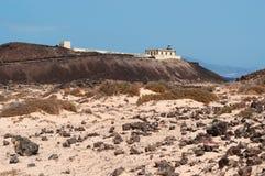 Loboseiland, Fuerteventura, Canarische Eilanden, Spanje Stock Foto