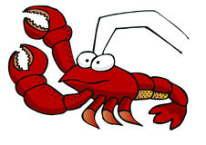 Lobster. Red Lobster including vector file Stock Images