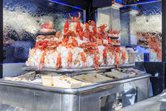 Lobster bar Stock Photo