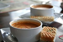 Lobster bisque Stock Photography