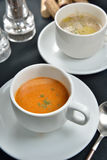 Lobster Bisque soup Royalty Free Stock Photo