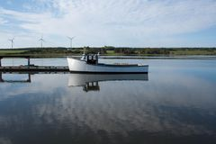 Lobster Boat Royalty Free Stock Image