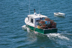 Lobster Boat at Sea Royalty Free Stock Image