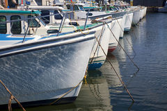 Lobster Boats Royalty Free Stock Photo