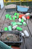 Lobster bouys Royalty Free Stock Photo