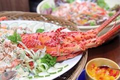 Lobster In Buffet Dinner Stock Photos