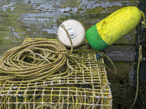 Lobster Buoys Royalty Free Stock Image