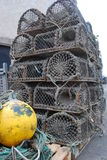 Lobster Cages Royalty Free Stock Image