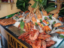 Lobster cart Stock Photo