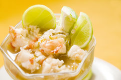 Lobster ceviche central american style nicaragua Stock Images