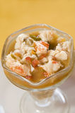 Lobster ceviche central american style nicaragua Stock Image