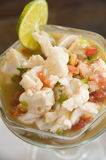 Lobster ceviche Nicaragua Royalty Free Stock Photo