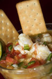Lobster ceviche nicaragua Royalty Free Stock Image