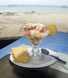 Lobster ceviche photographed in Big Corn Island Nicaragua by bea. Lobster ceviche as photographed in Big Corn Island Nicaragua by Caribbean Stock Images