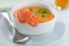 Lobster Chowder Royalty Free Stock Photo