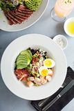 Lobster cobb salad royalty free stock photos