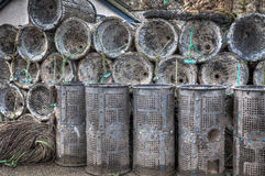 Lobster and crab pots Royalty Free Stock Photography