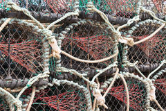 Lobster or crab pots Stock Photos