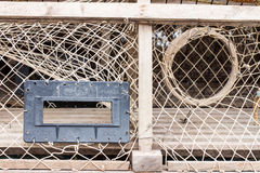Lobster or Crab Trap Royalty Free Stock Photo