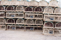 Lobster or Crab Traps Stock Photo