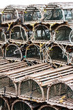 Lobster or Crab Traps Stock Image