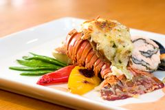 Free Lobster Dinner Royalty Free Stock Image - 4097546