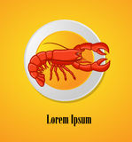Lobster Dish Royalty Free Stock Images
