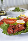 Lobster dish Royalty Free Stock Photography