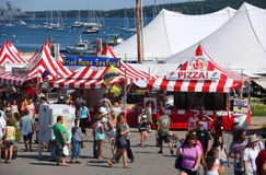 Lobster Festival in Rockland, Maine, USA Stock Image