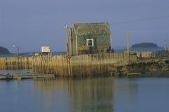 Lobster fishing village, Penobscot Bay, ME Stock Photos